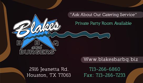 Blakes Bar B Q